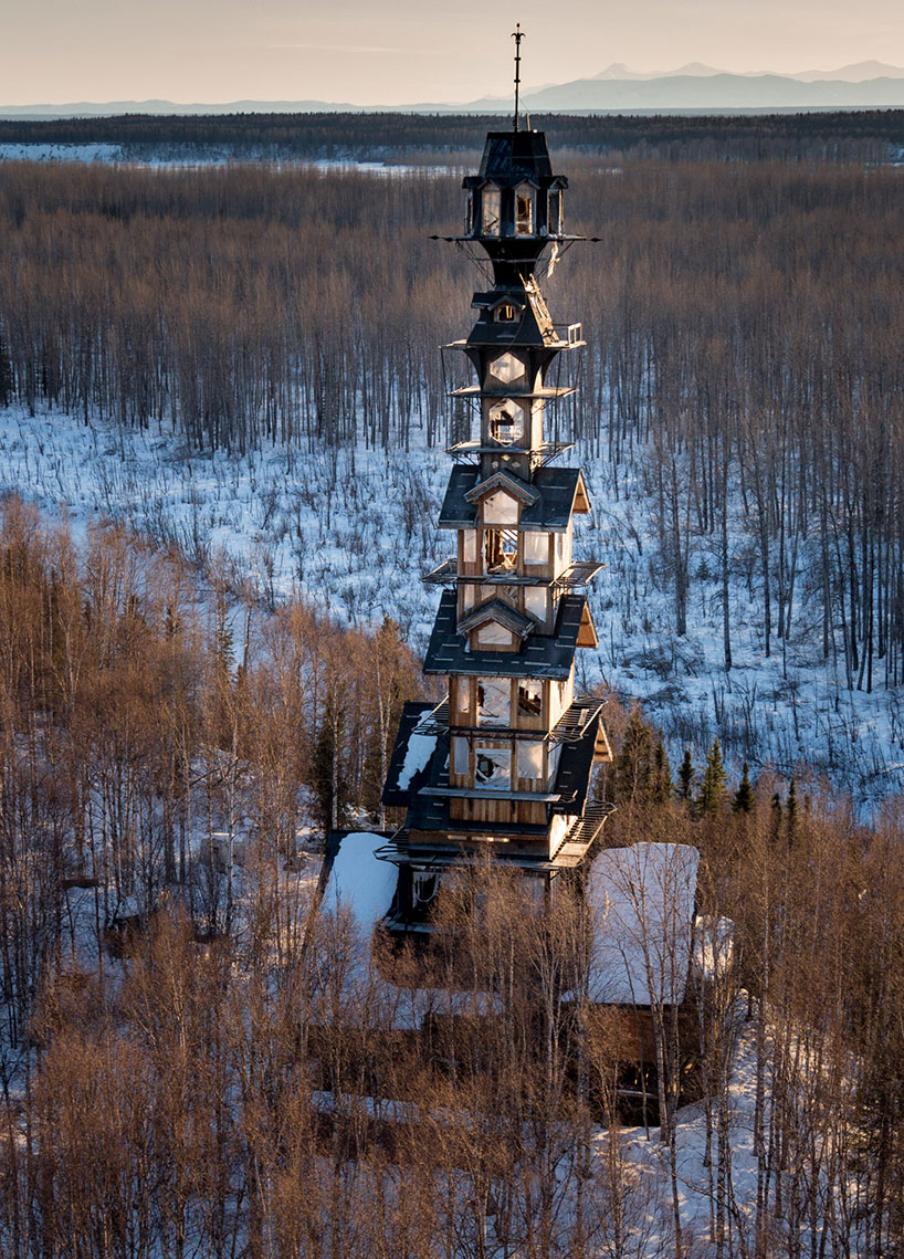 Alaska - Goose Creek Tower - Designer Phillip Weidner