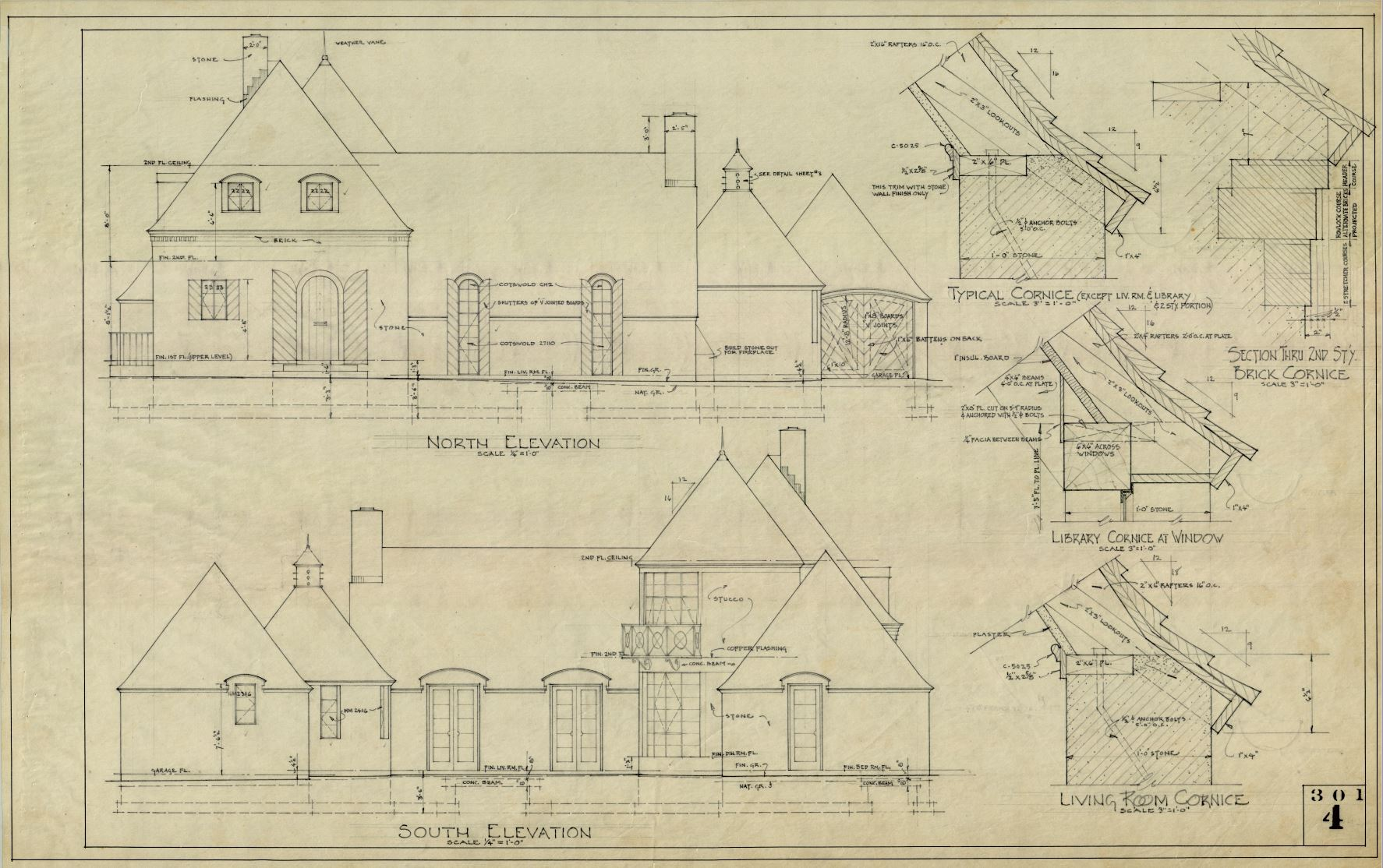 Winfield Home designed by William Caton