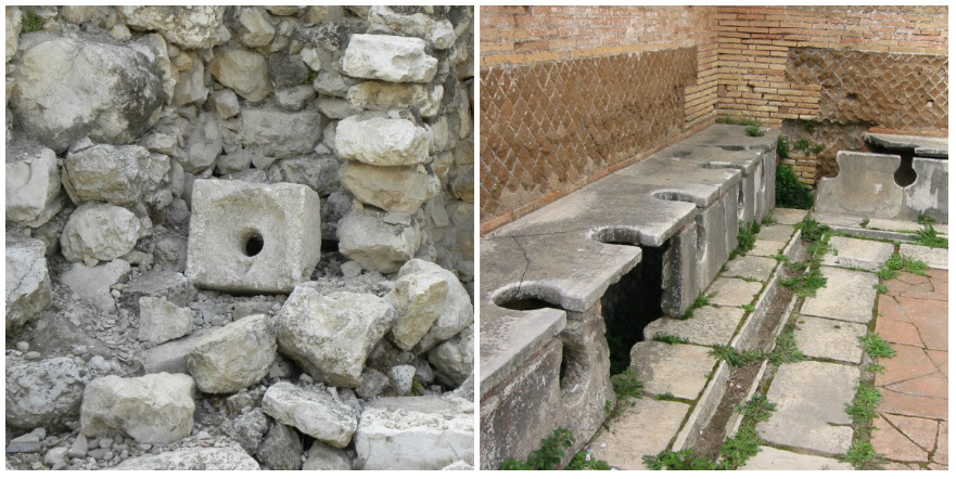Toilets 4500 years ago.