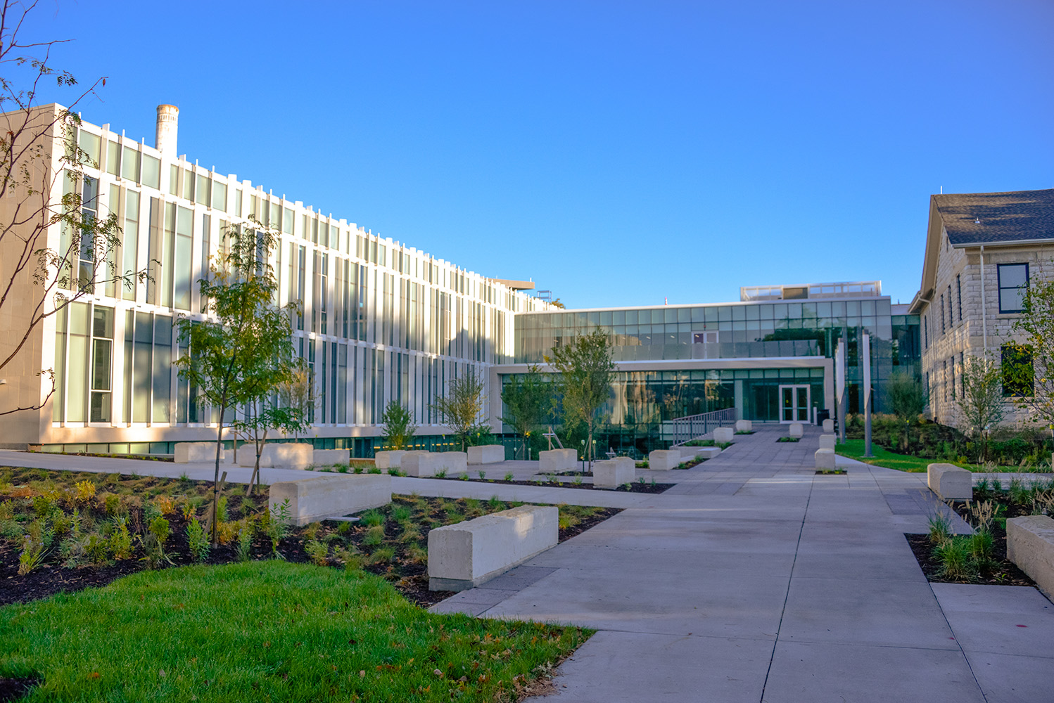 The new Seaton/Regnier Complex at K-State opened in 2017.