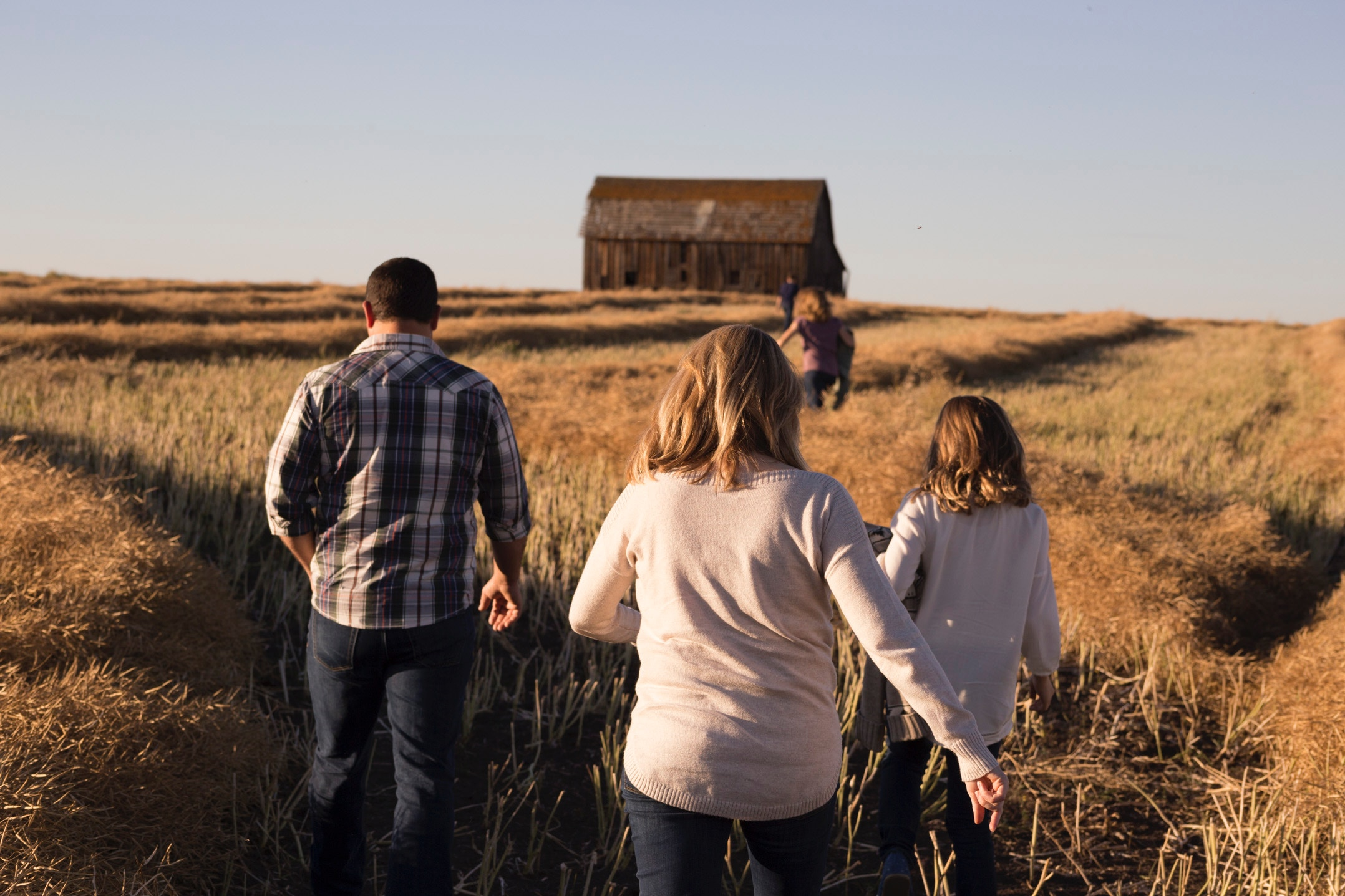 Families going through conflict, divorce or loss.