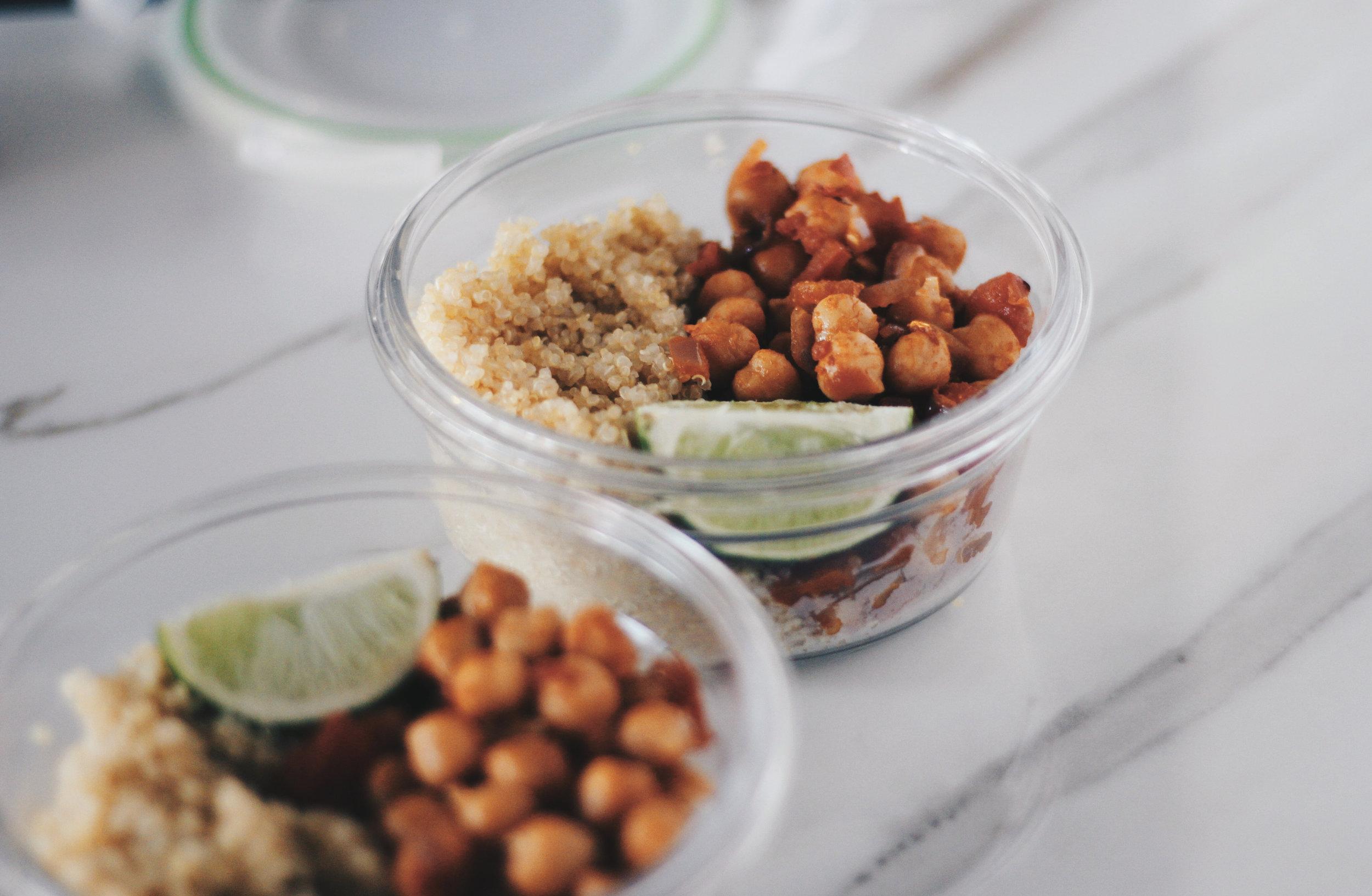 spicy chickpea recipe