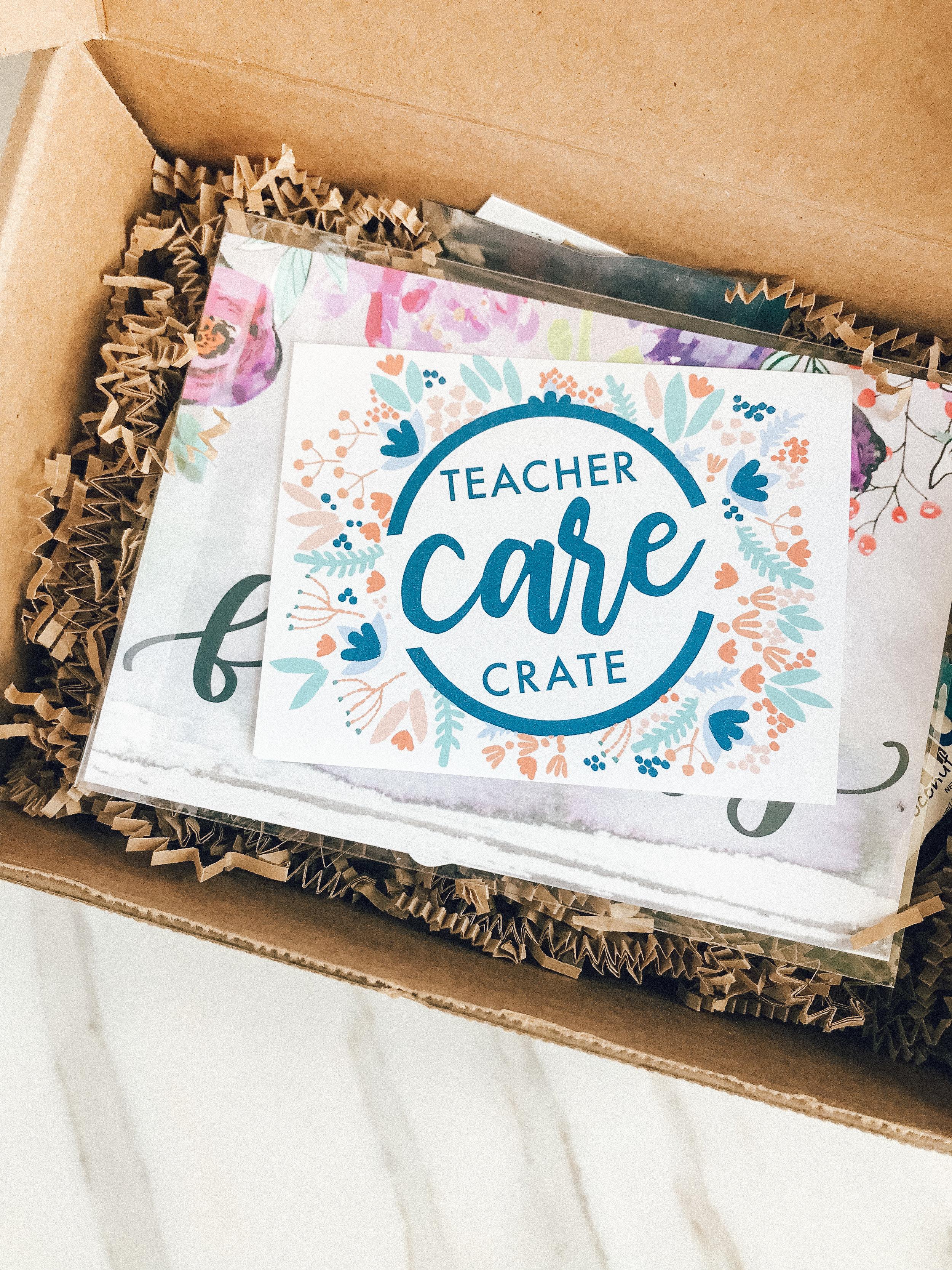 Teacher Care Crate - Self-care subscription for teachers