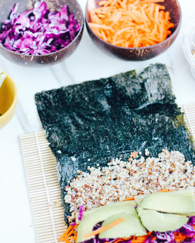 Healthy Sushi Burrito