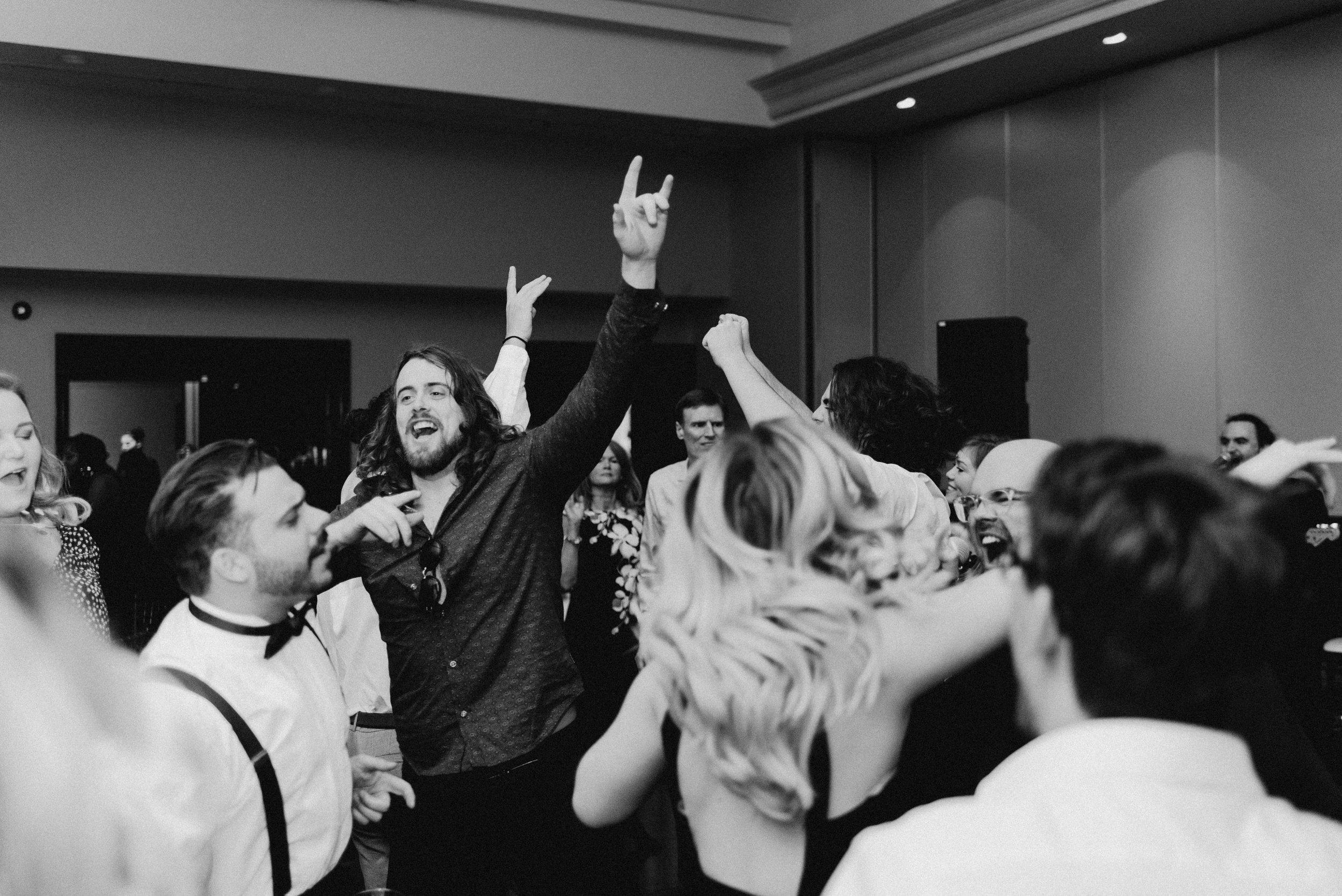 Wedding reception after party Jeremy Tozer.