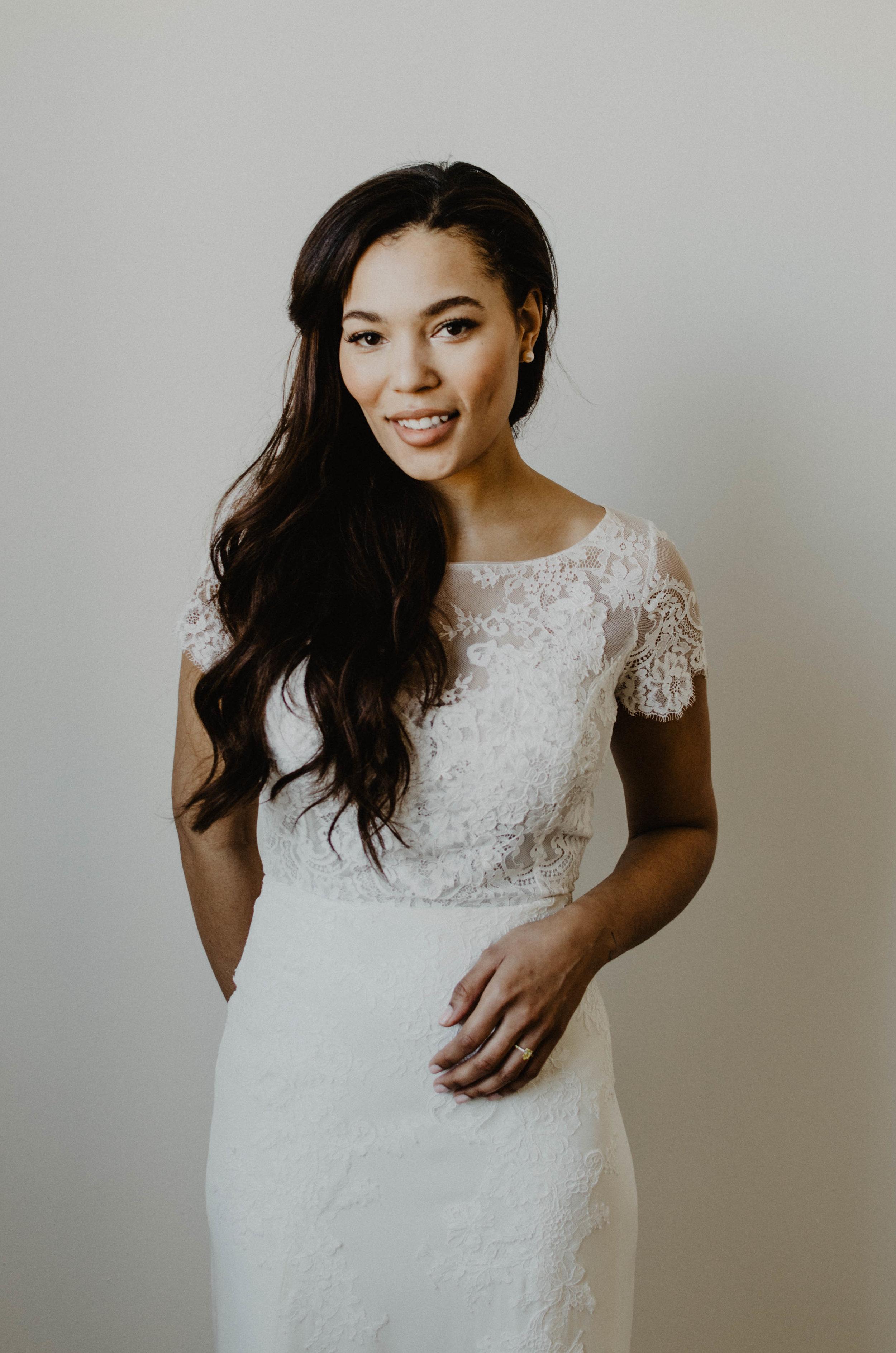 Bridal portrait in Toronto