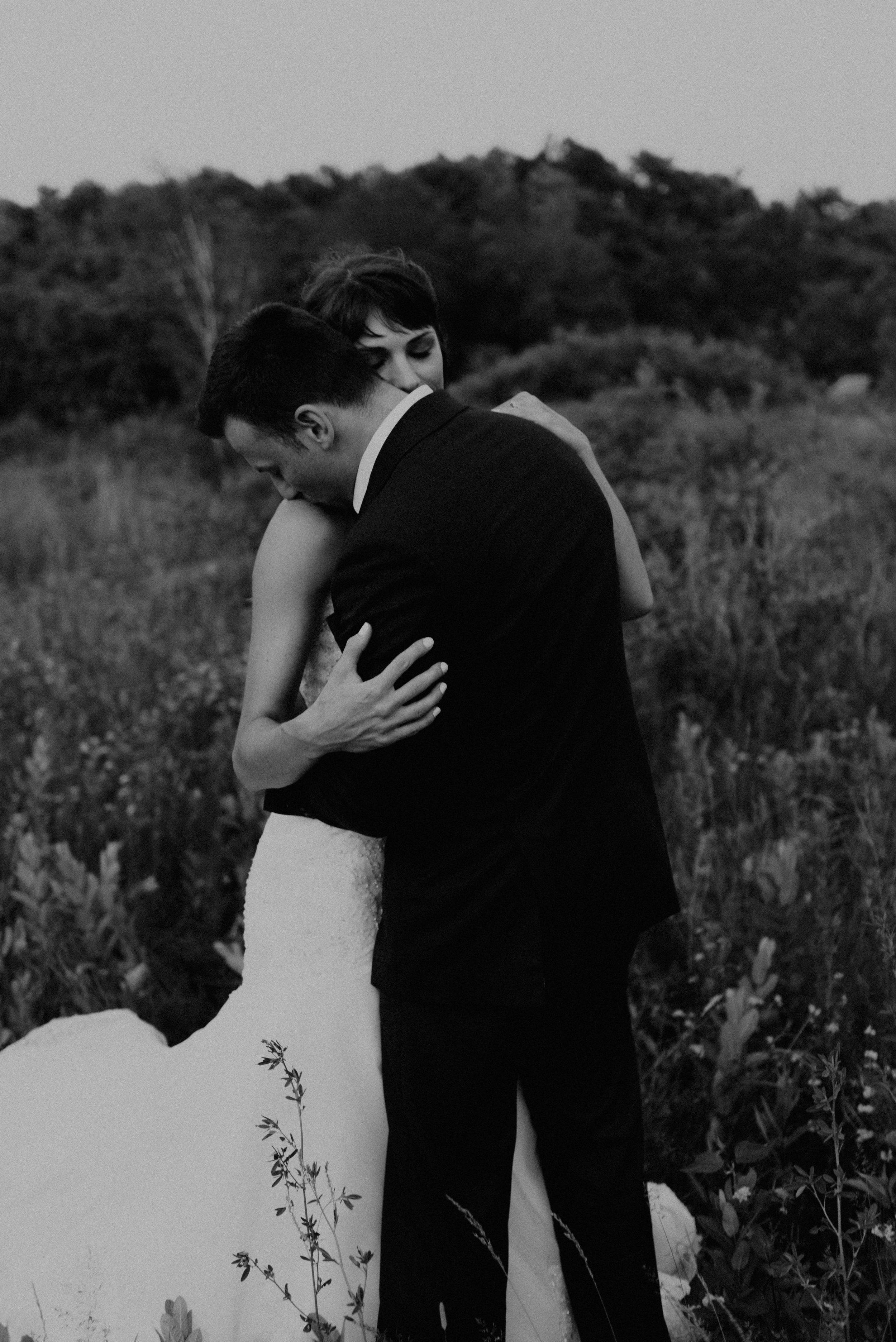 Intimate elopement in Canada