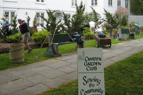 Village Green Cleanup 2009