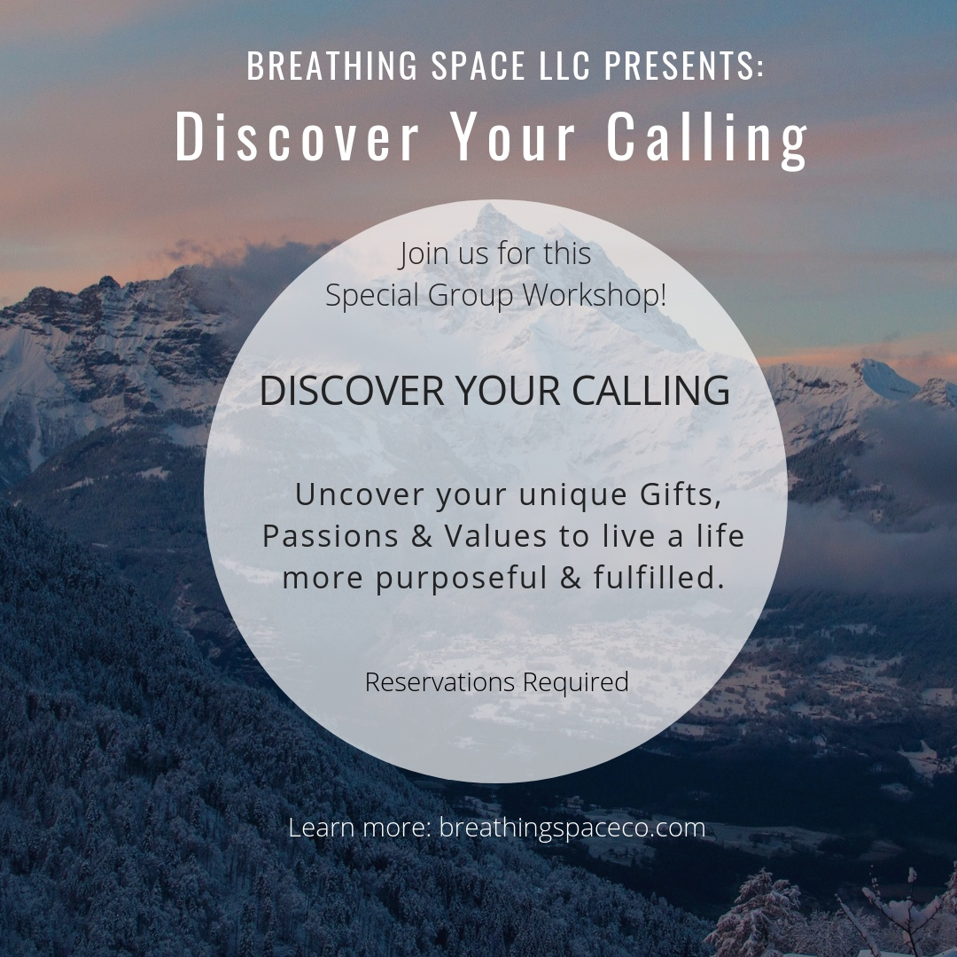 GROUP WORKSHOP. OFFERED IN MARCH & APRIL. LEARN MORE BY CLICKING THE BUTTON BELOW.