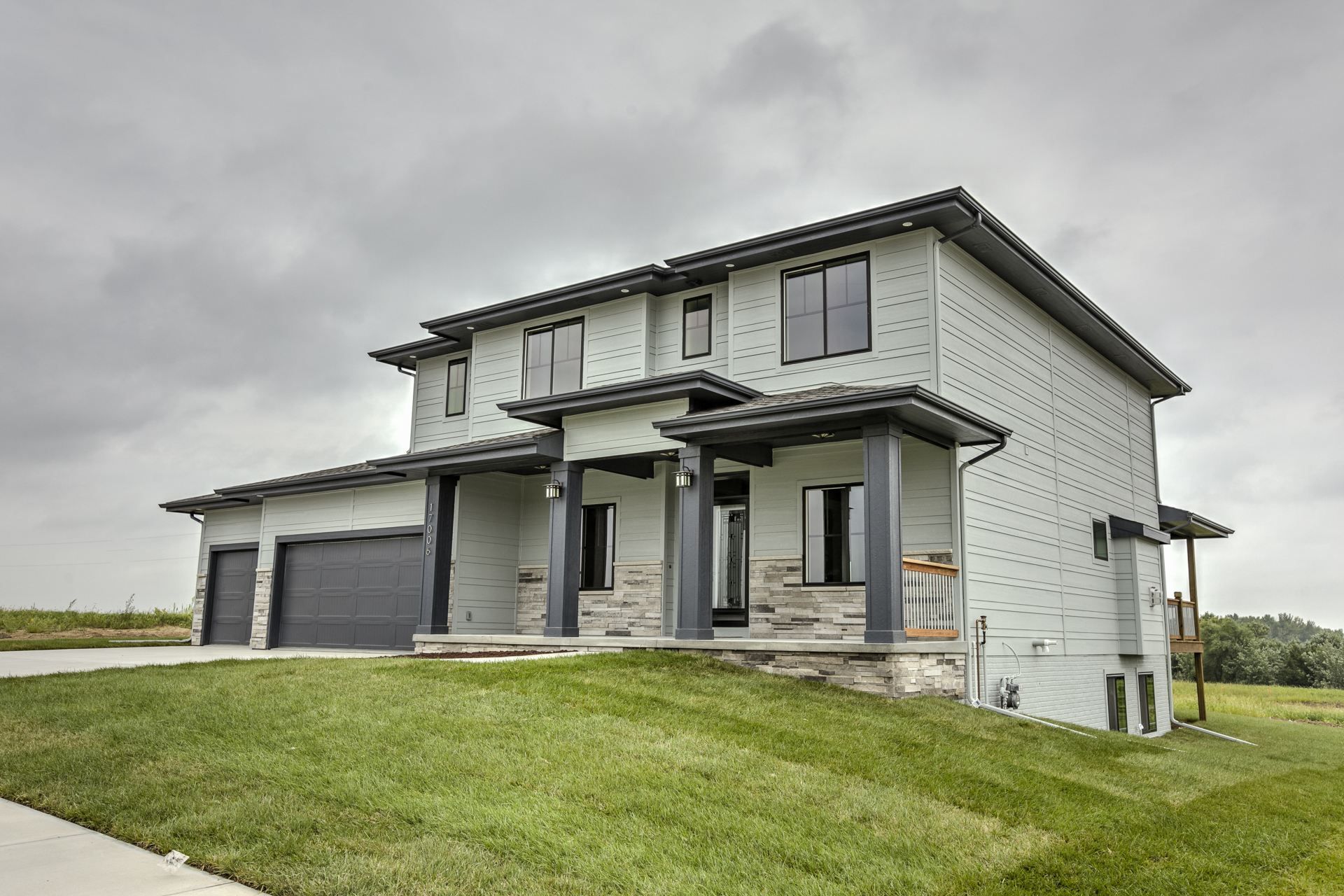 Sold home    17006 Potter st   Sold Anchor point, our two story home  with Stone Fireplace and Bamboo floors  Spaces Decks and Stylish Lighting