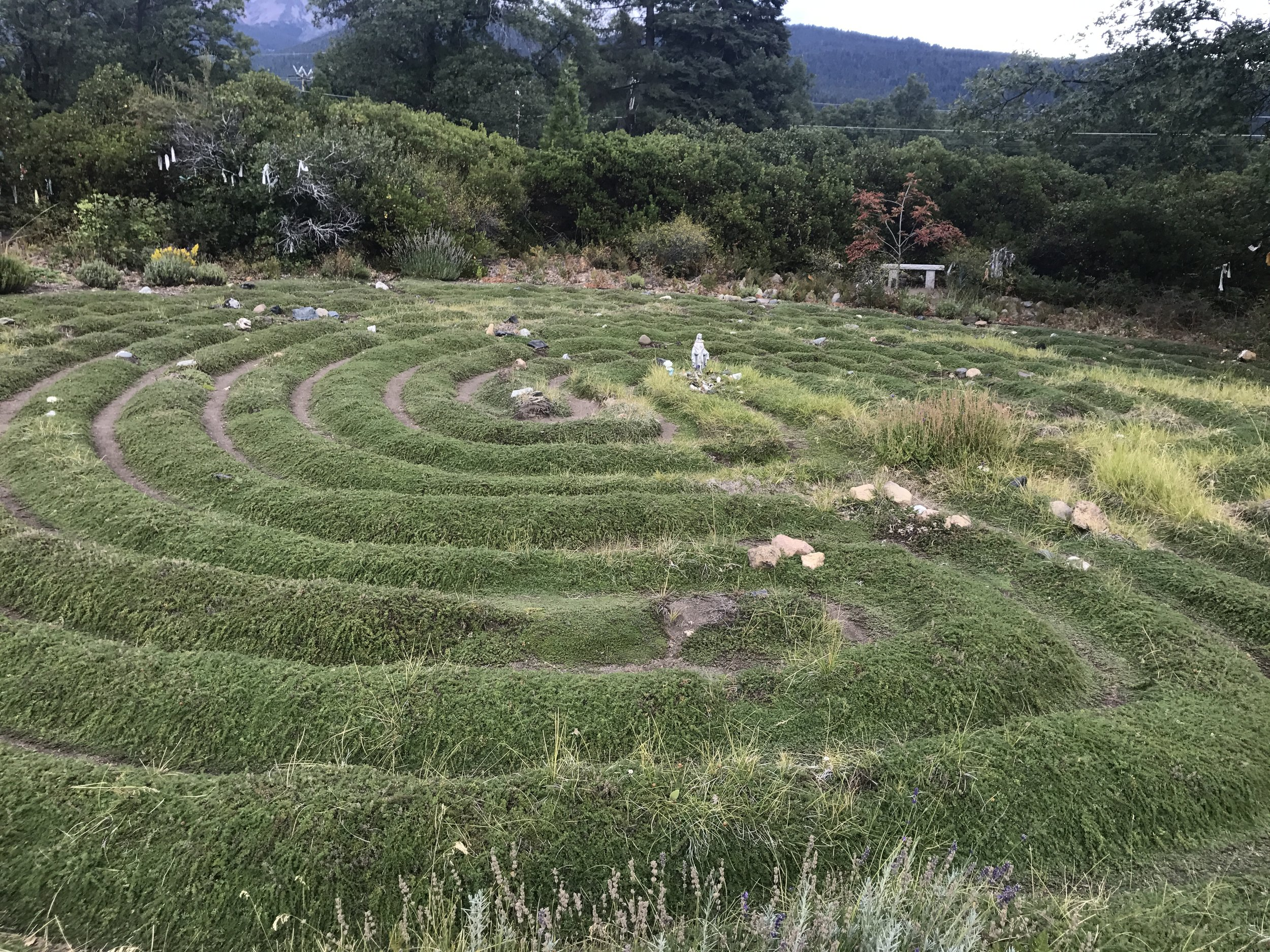 Labyrinth at Peace Garden