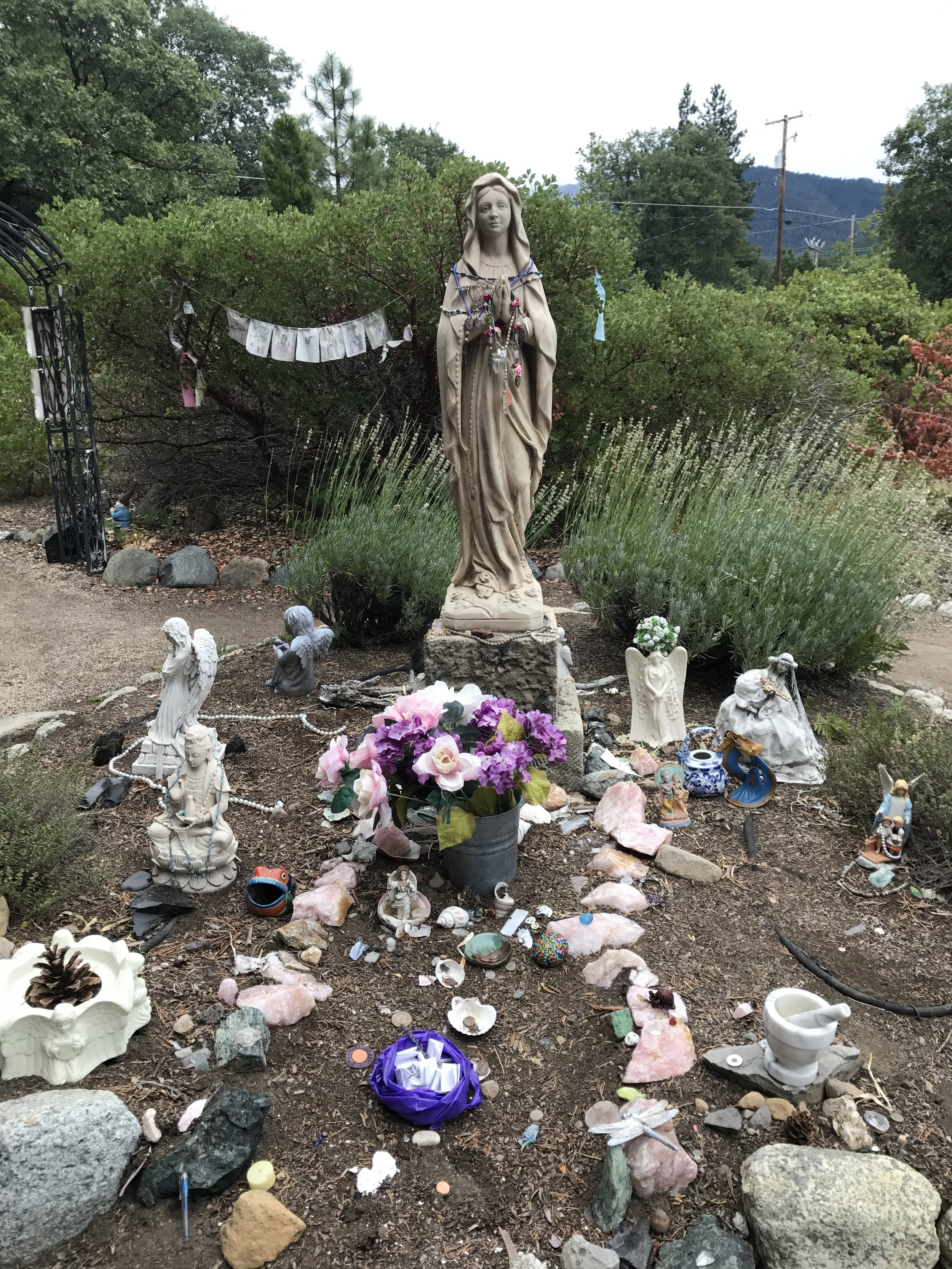 Mother Mary @ Peace Garden