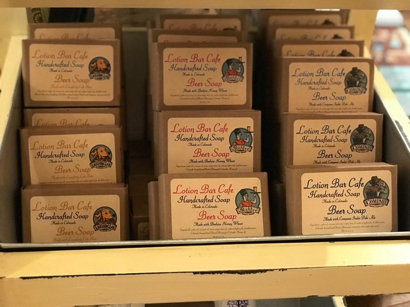 Lotion Bar Cafe soaps