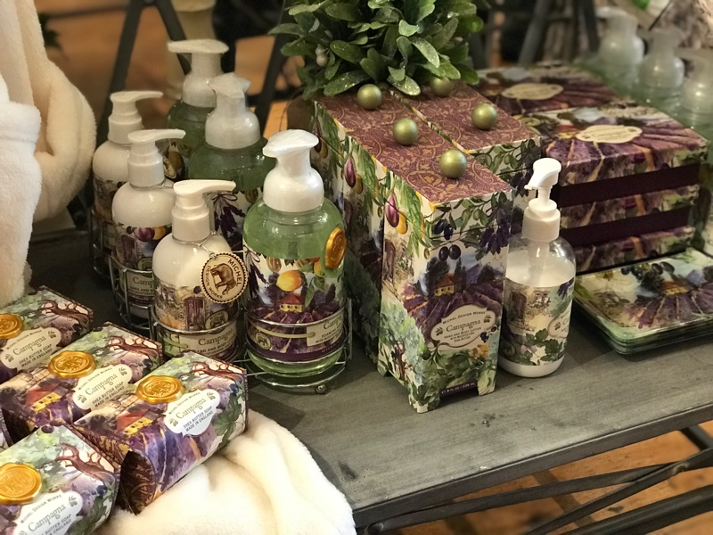 Michel Design works Soaps and Lotions