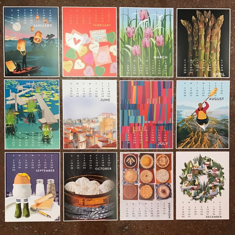 2018 Linnea Design Calendars