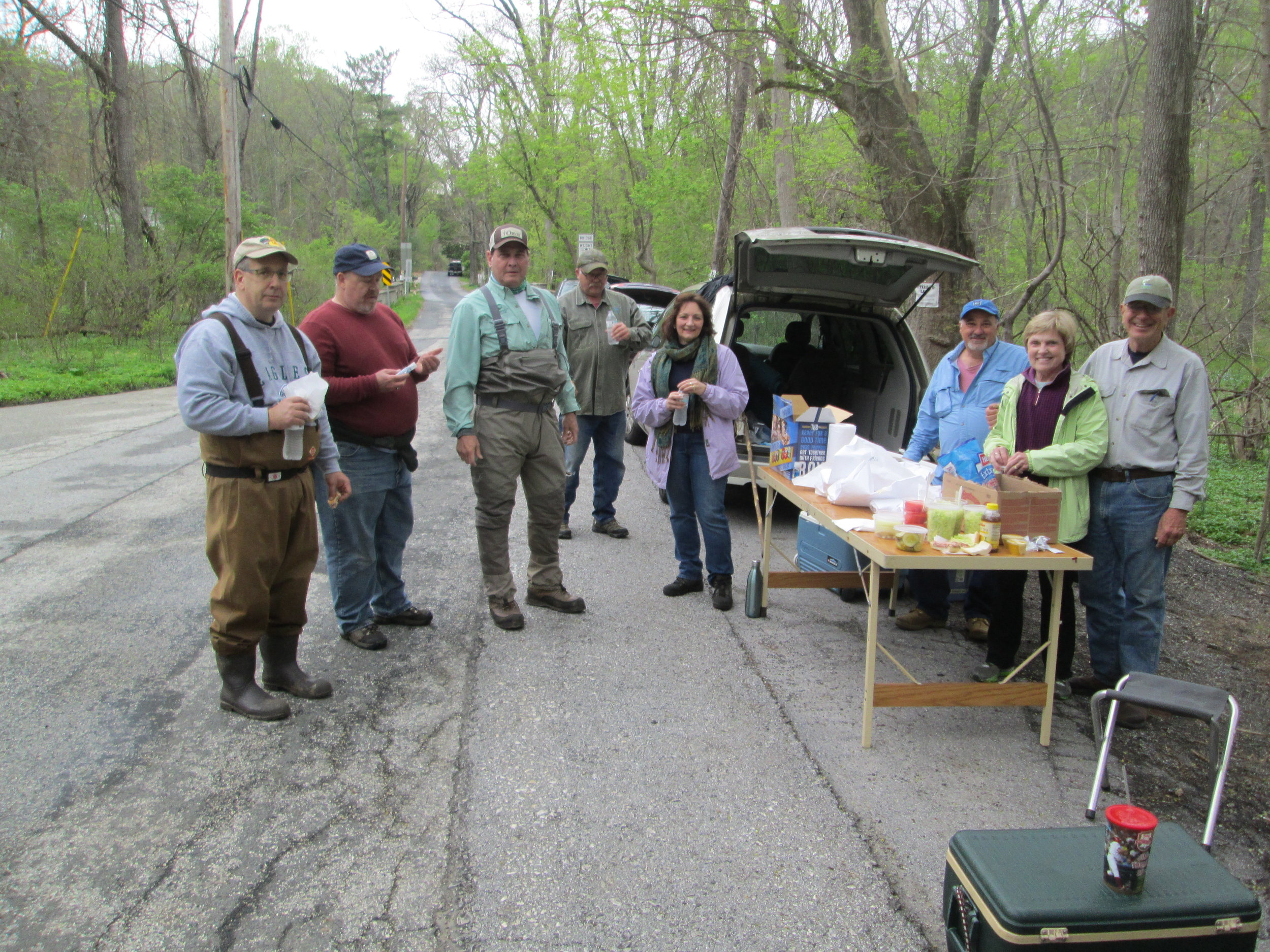 Pickering Creek Clean up Party