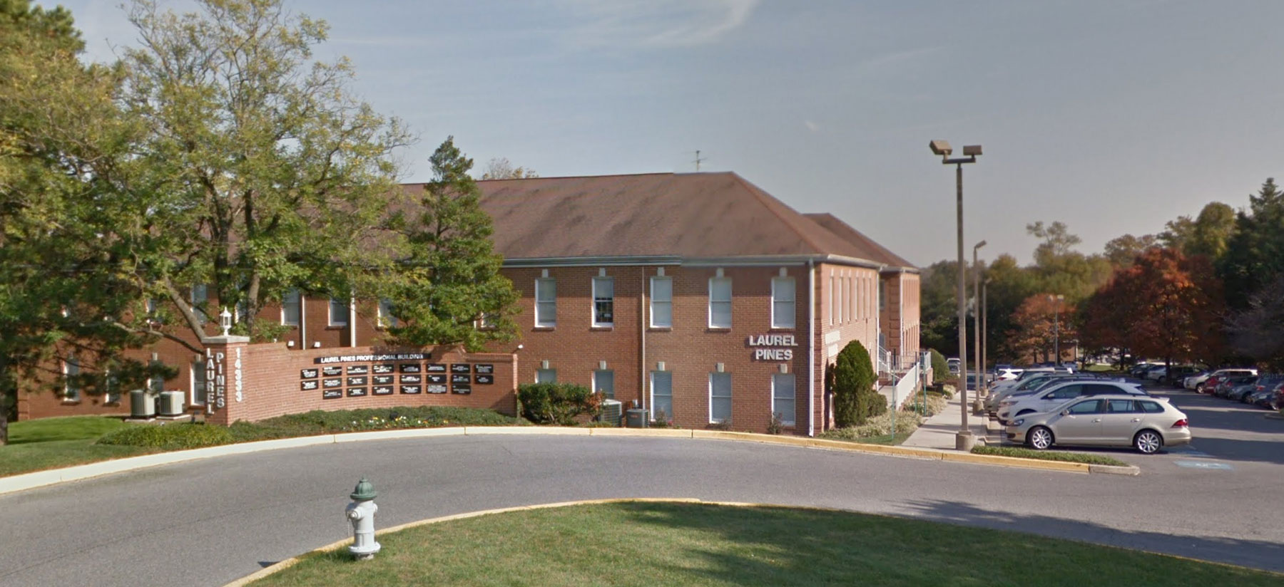 Visit our beautiful office within the  Laurel Pines Professional Building:   Get Directions