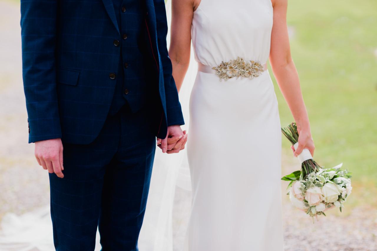 antique gold lace bridal belt