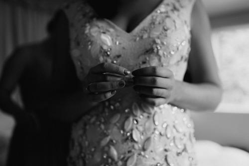 crystal vines wedding dress