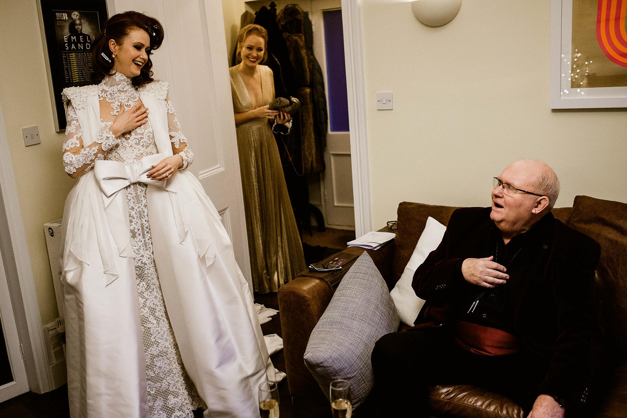 white wedding dress, shoulder pads