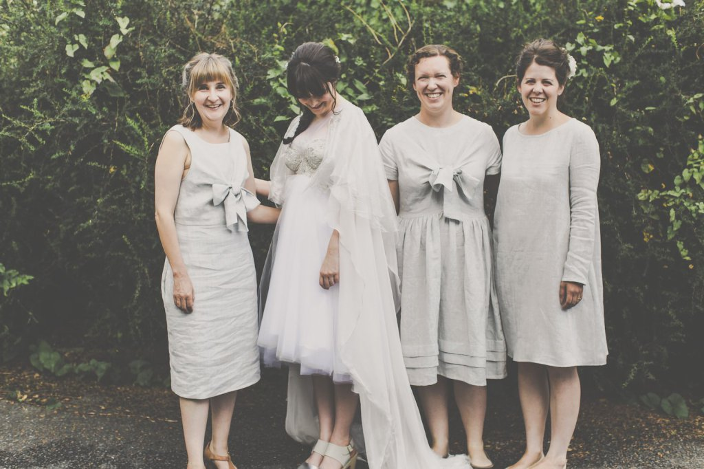me and orla grey wedding dress and cape