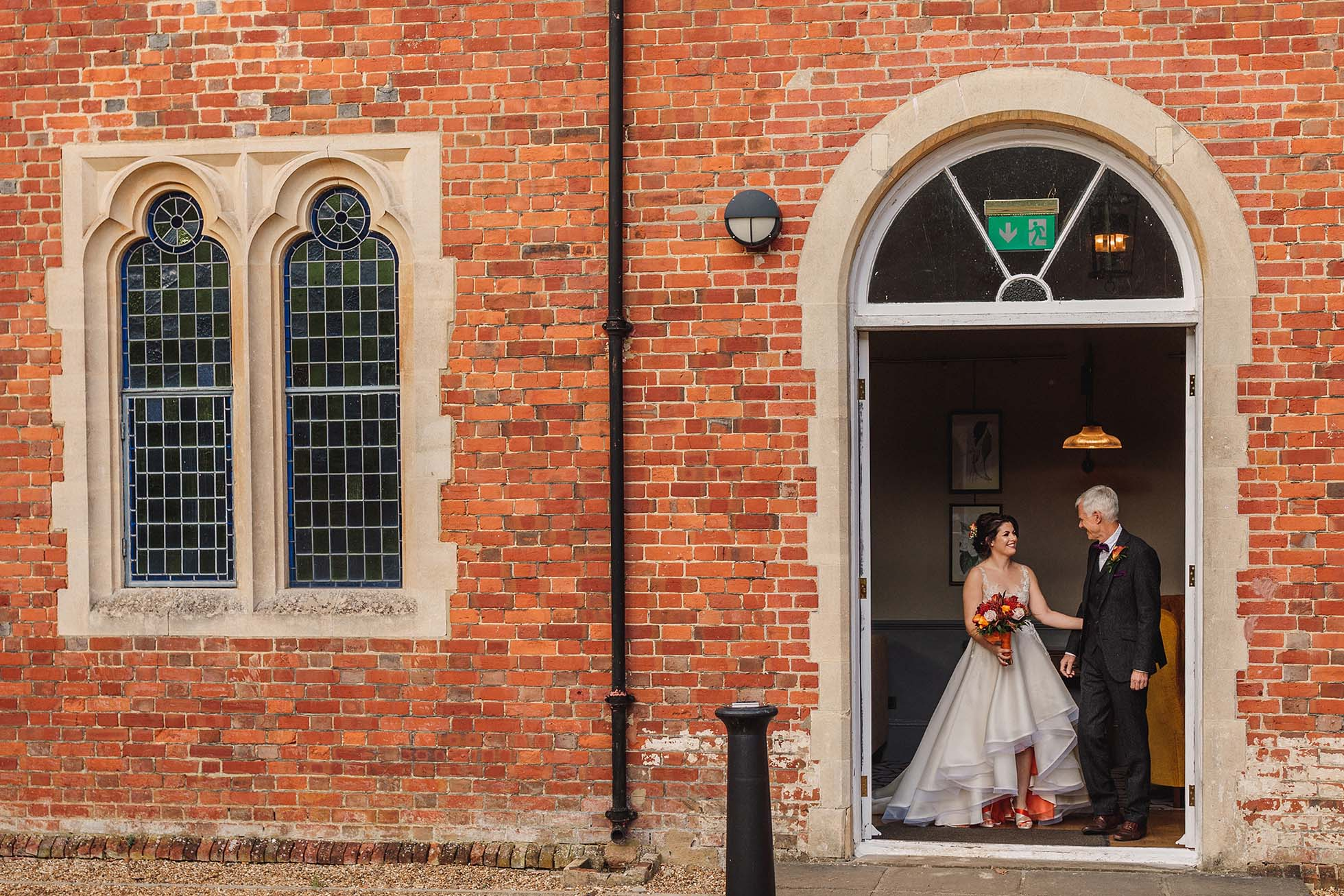 hi-lo ball gown wedding dress