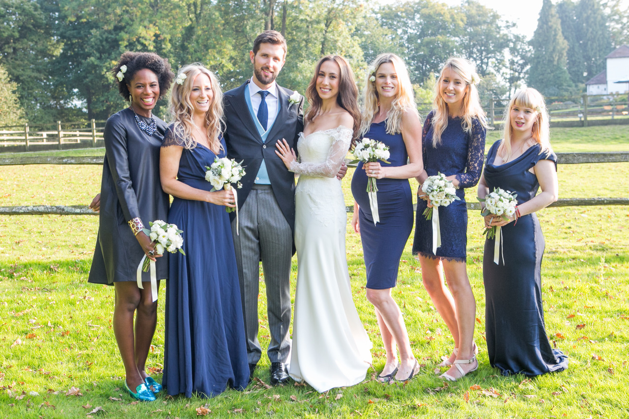 0ff-shoulder lace and silk crepe bespoke wedding dress