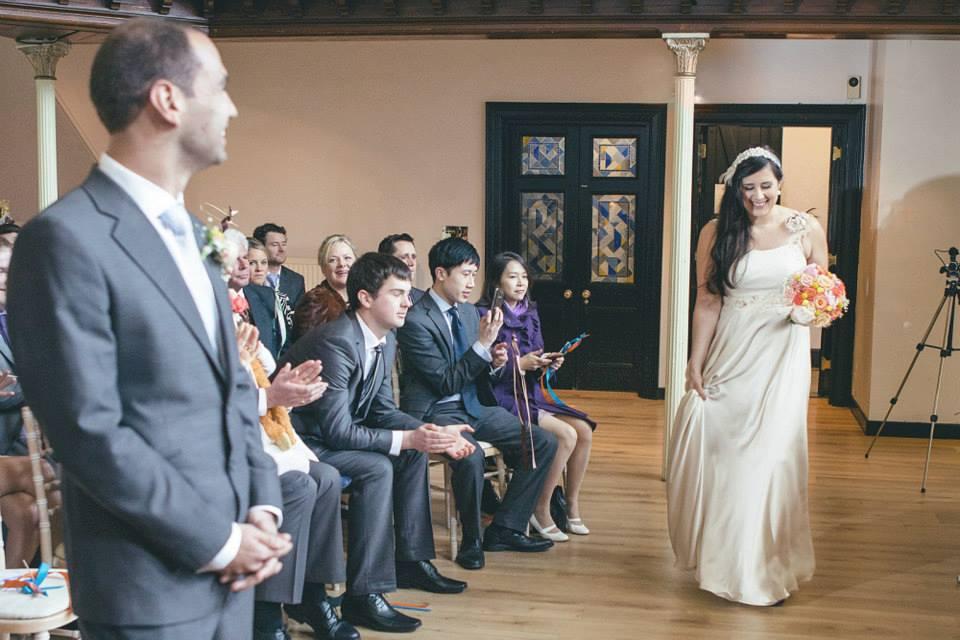 Blush wedding dress the amadeus