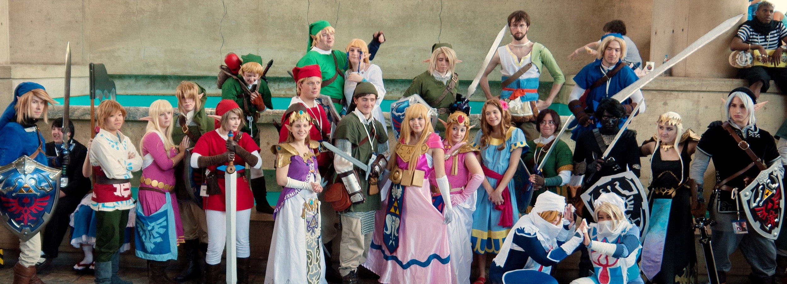 Cosplay rules at the Anime festival  Otakon , which touches down in Washington, D.C. this August.