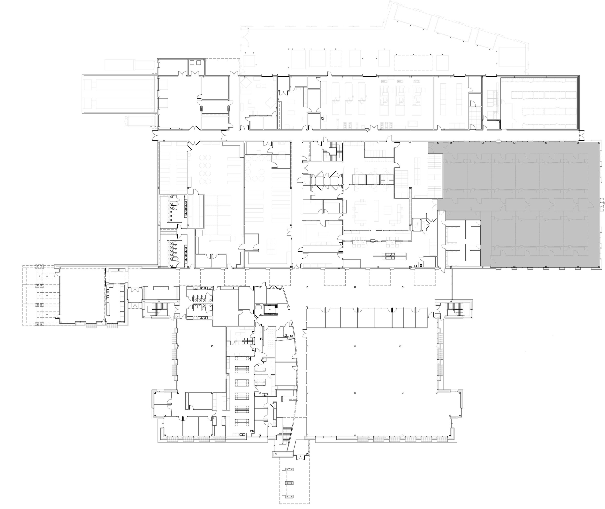 Life Net Health Corporate Headquarters - First Floor Plan