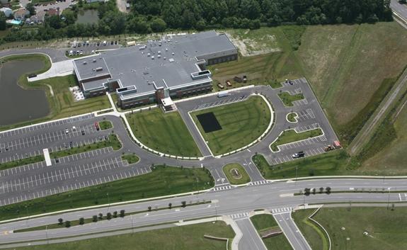 LifeNet Health Corporate Headquarters - Aerial