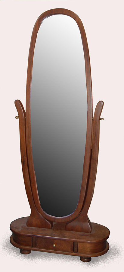 Floor Mirror - Black Walnut 1996.jpg