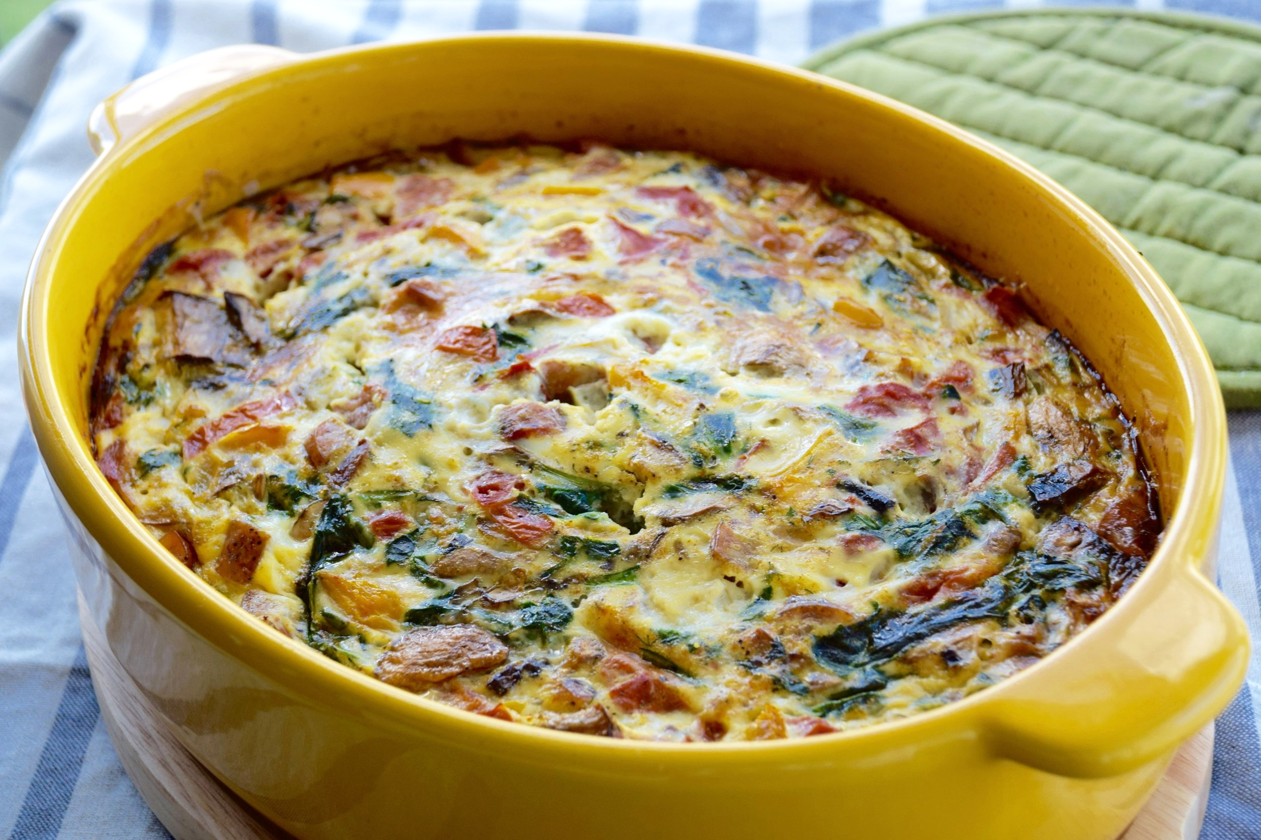 Crustless Quiche - Quick, Delicious & Family Approved!