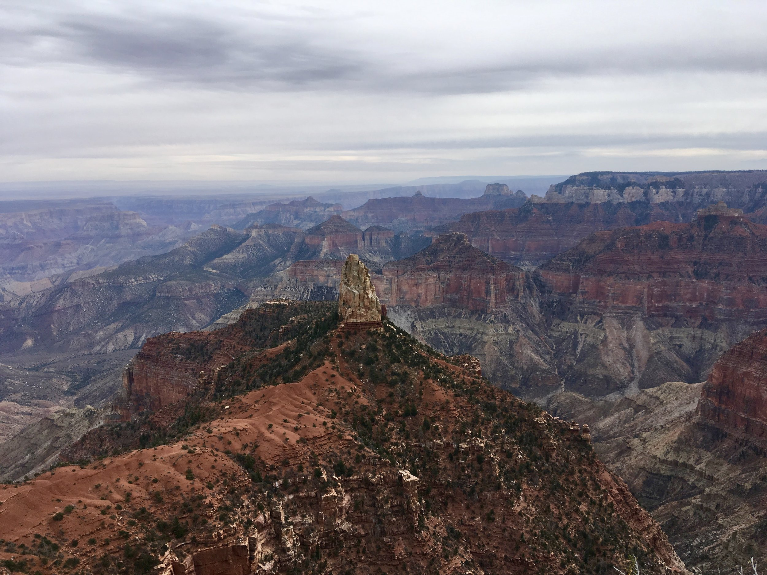 Point Imperial, Grand Canyon; November 2017