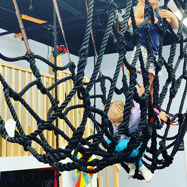 There so many ways kiddos have fun @kidtuitive!! Our new challenge makes all the kiddos want to get up there and swing!! Escape the 🥵 🌞 and rain 🌧 . ...kidtuitive!!! ...clean, safe and most of all fun!! Place to play!! ... . . #indoorplayground #palmbeachflorida #delraybeach #bocaratonflorida #boyntonbeach #lakeworthbeach #elementaryschool
