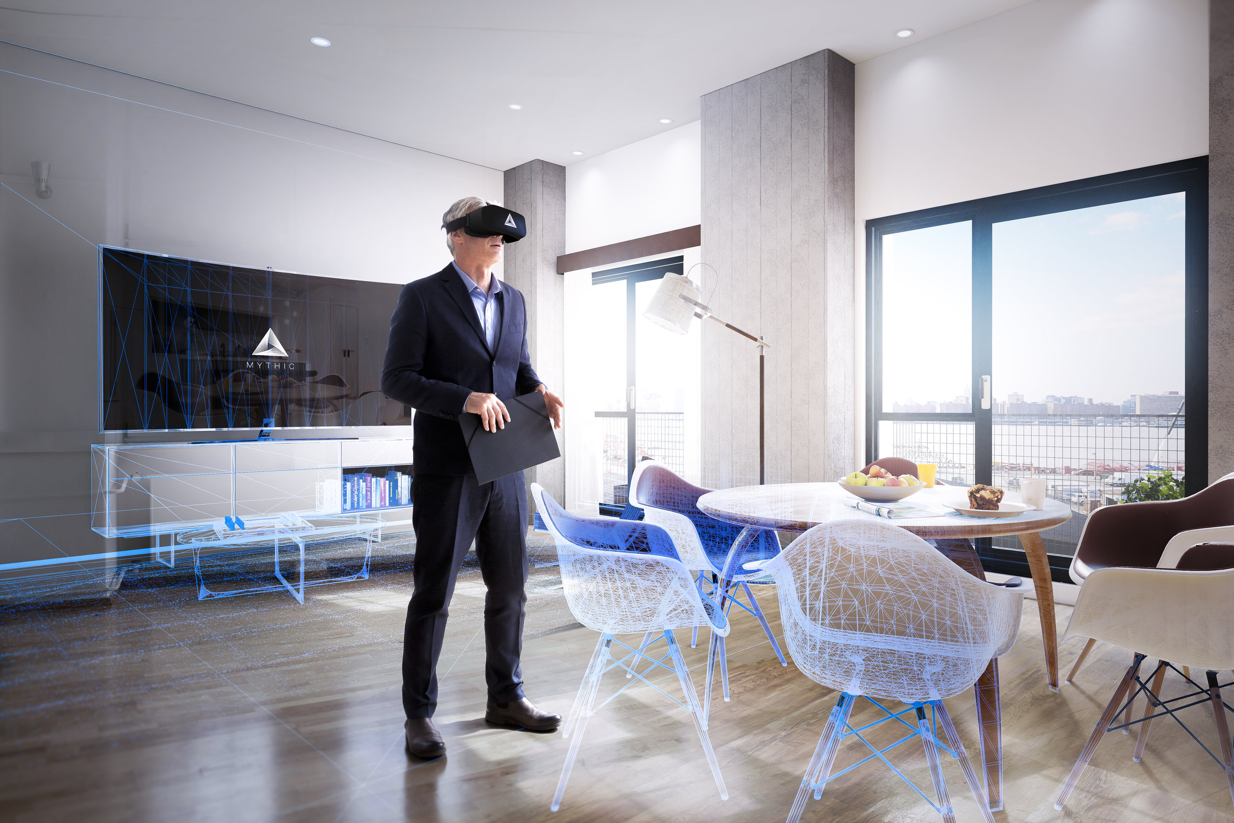 vr headset in real estate websites