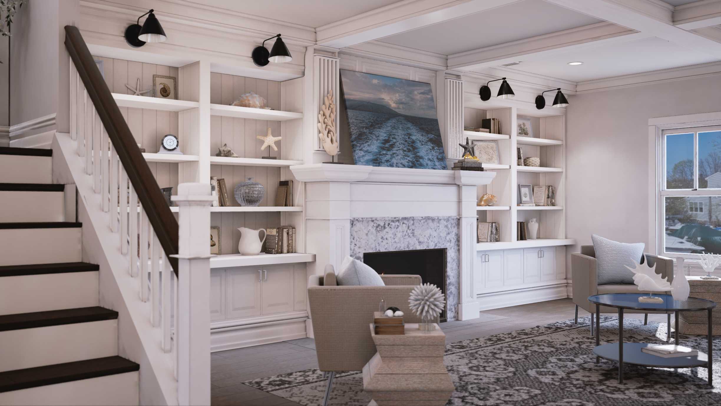 SUNSET VILLAS    VR for high-end town homes on the New Jersey Waterfront