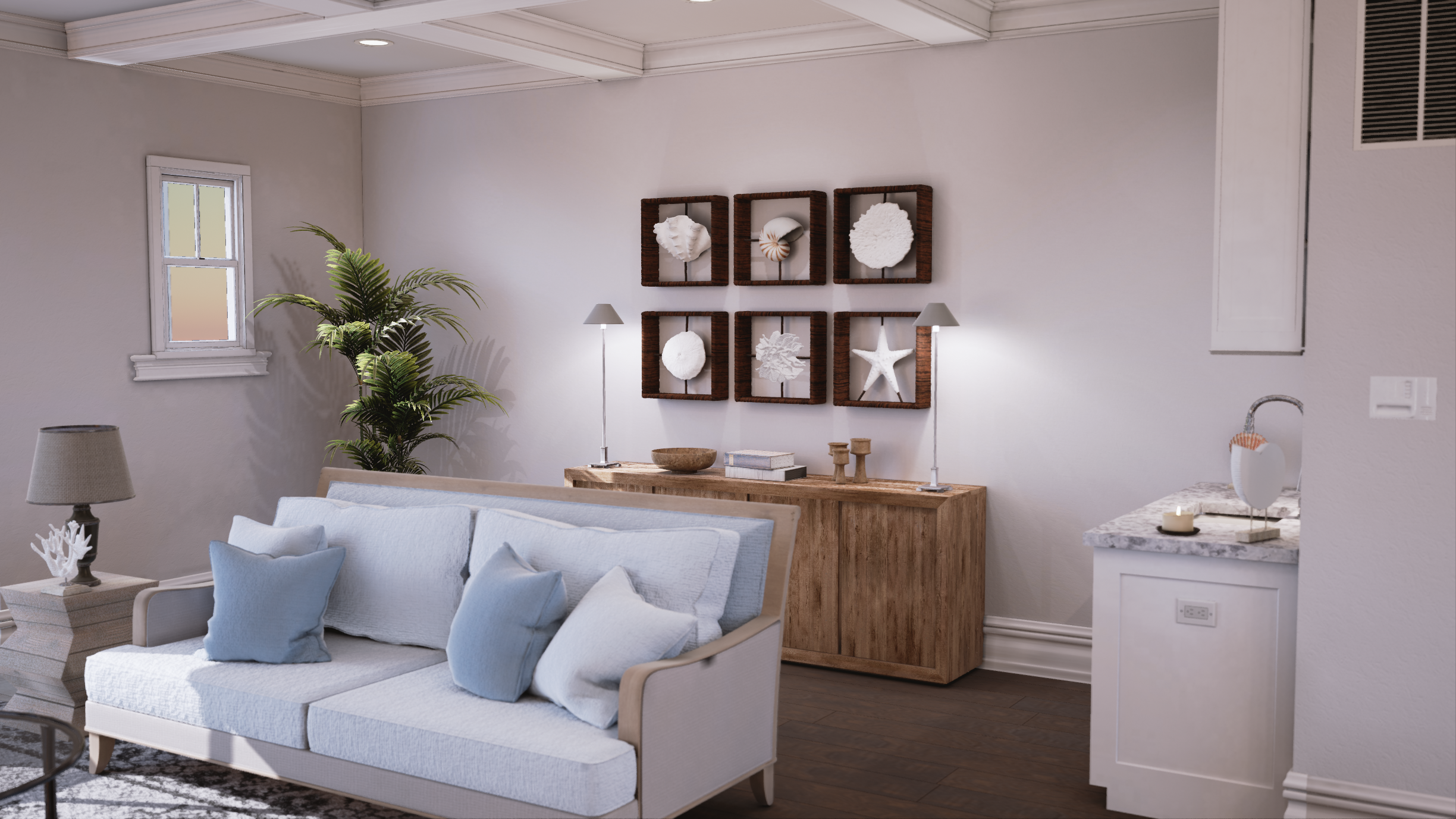 Living room Rendering by Mythic VR