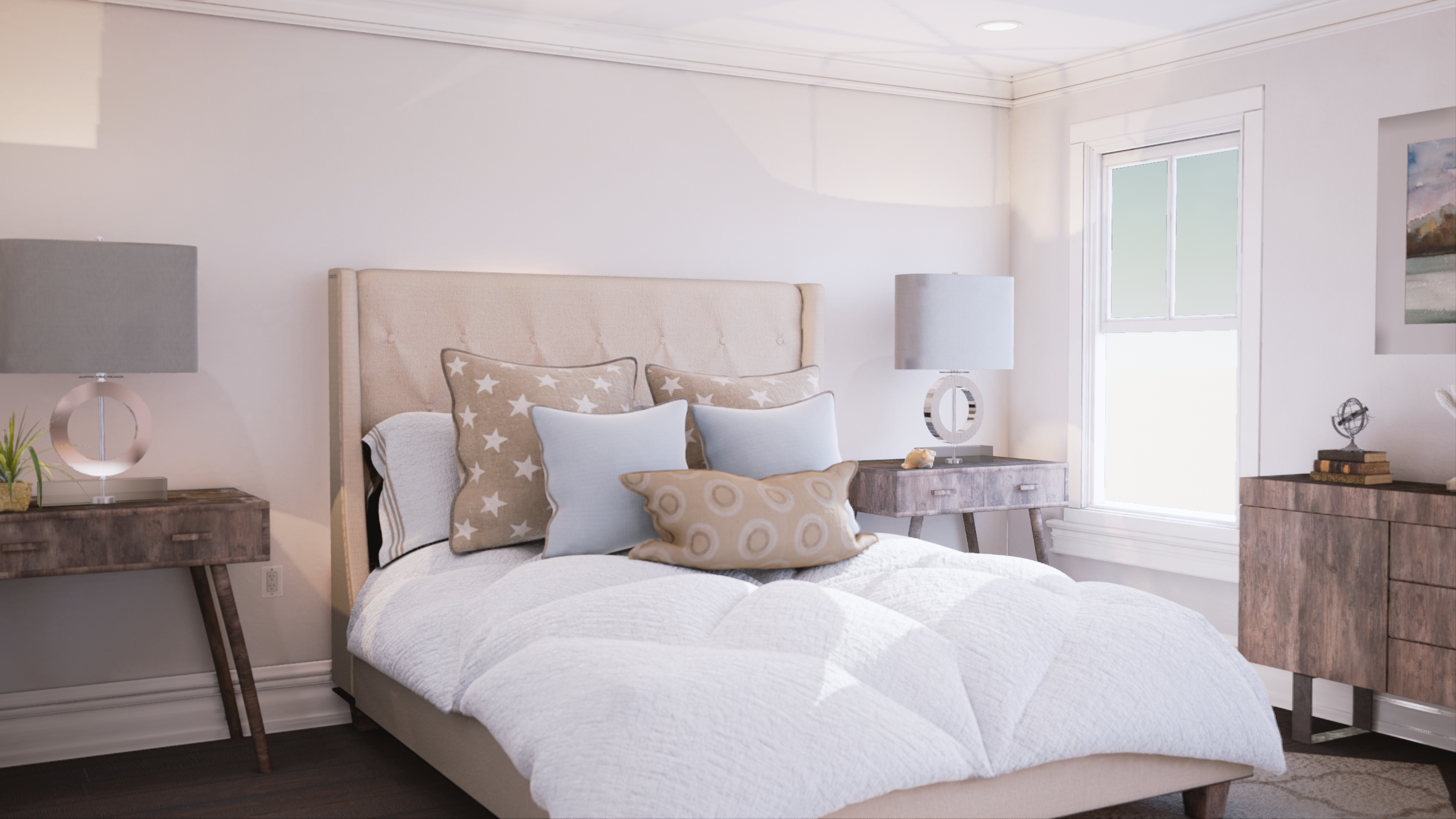 Bedroom Rendering by Mythic VR