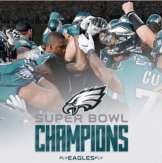 WHAT A NIGHT!!!! Cred: @philadelphiaeagles