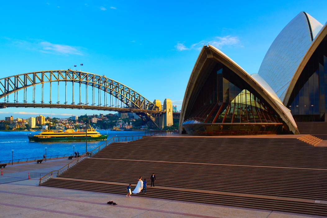 Wedding at Sydney Opera House