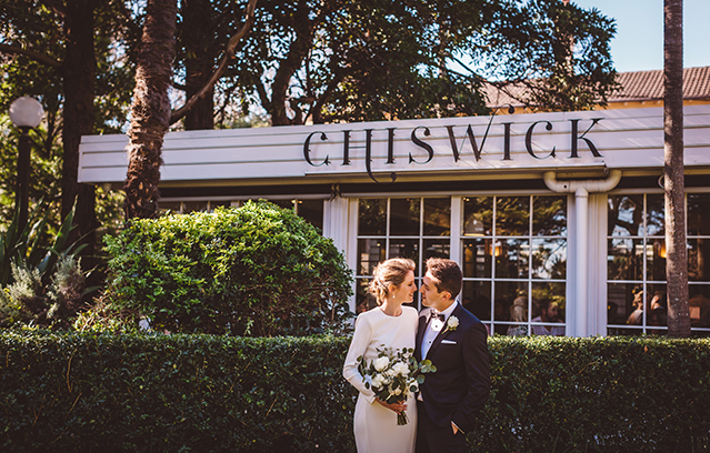 Jess and Damir's Sydney Garden Wedding at The Chiswick