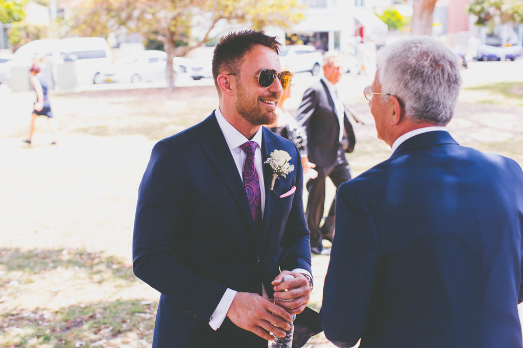 James Knibbs Groom and Father at Balmoral Wedding