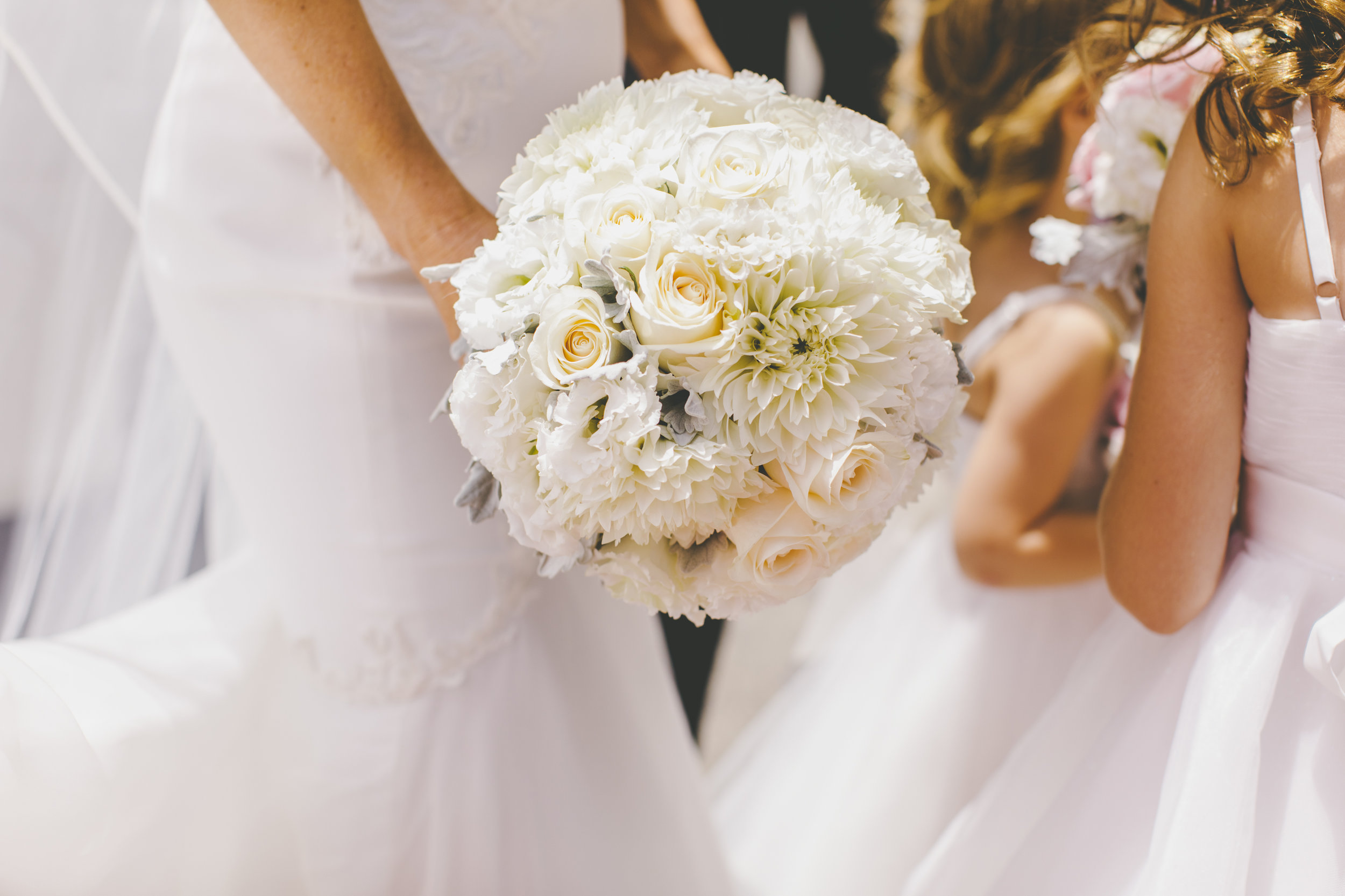 Wedding Bouquet for Bride Natalie Lowe at her Balmoral Wedding