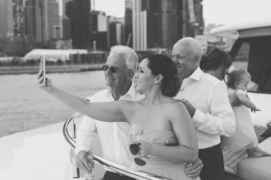 Wedding gusts Natalie Lowe and James Knibbs Wedding Sahana Yacht
