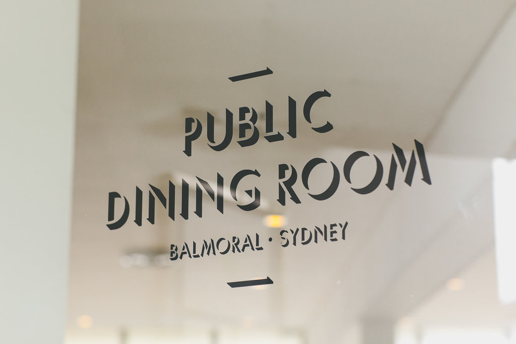 Public Dining Room Balmoral Wedding