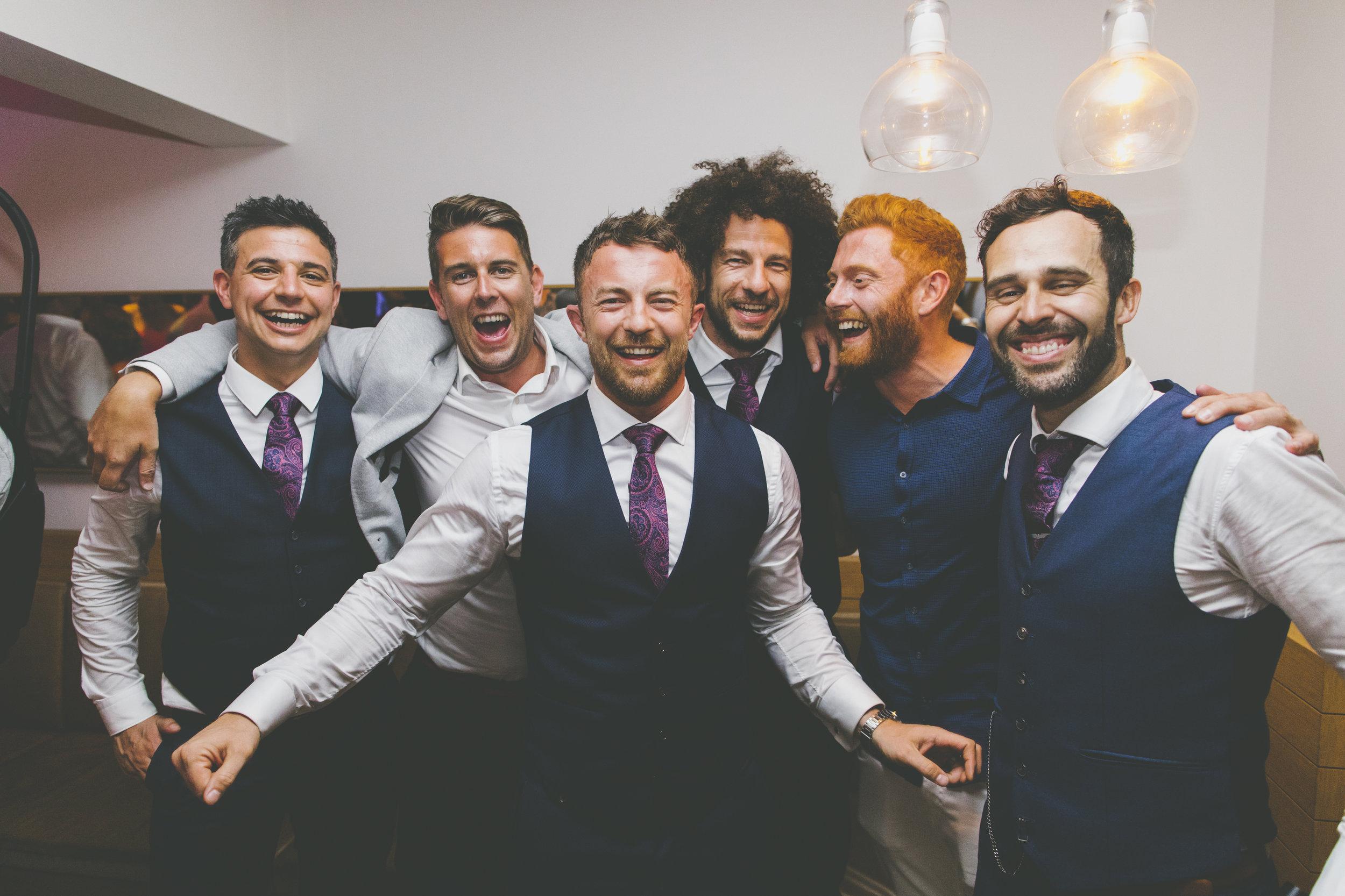 Guests having fun at The Public Dining Room Balmoral Sydney Wedding Reception