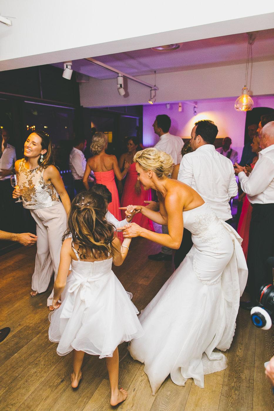 Bride Dancing at The Public Dining Room Balmoral Sydney Wedding Reception