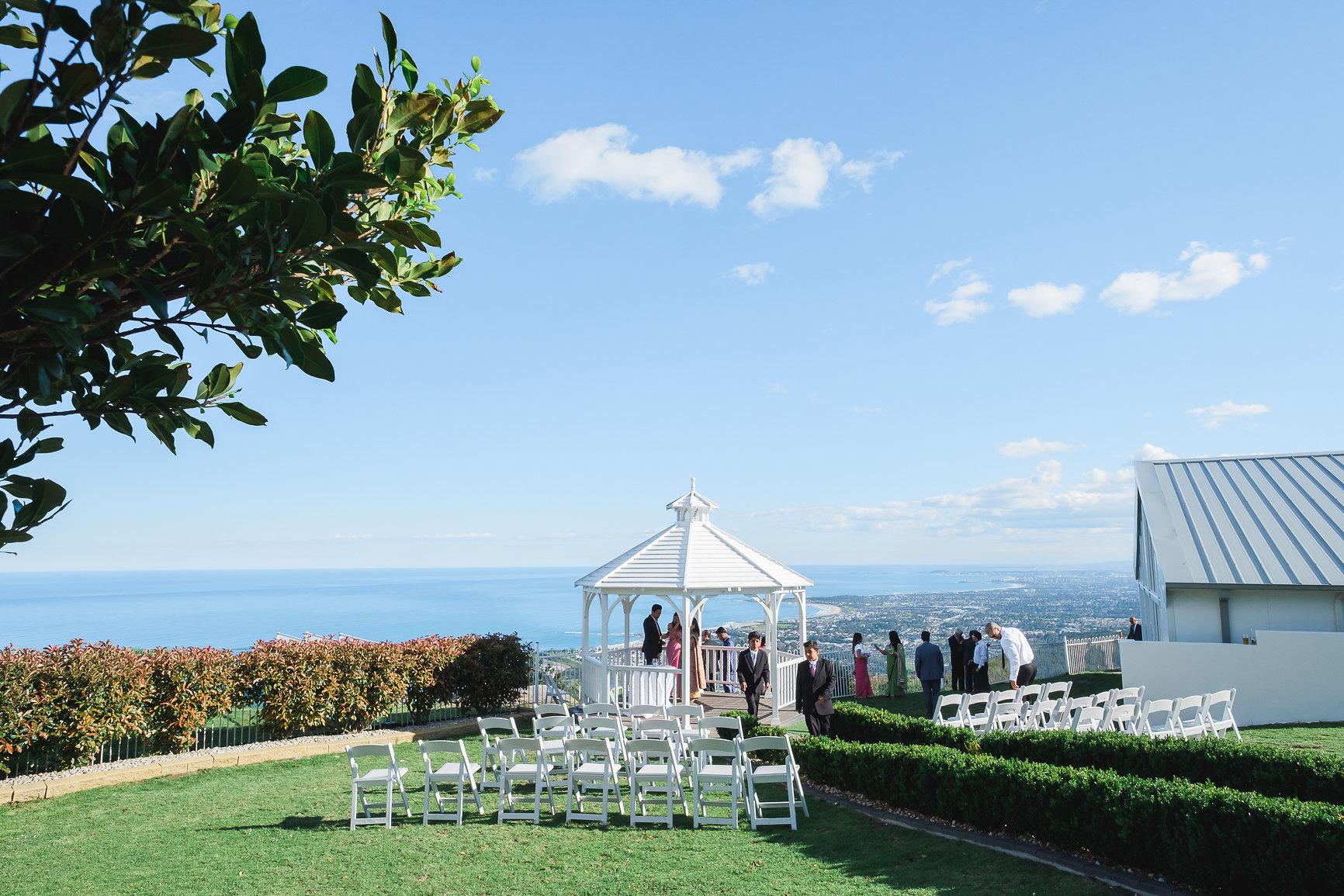 Wedding Ceremony at Panorama House Bulli