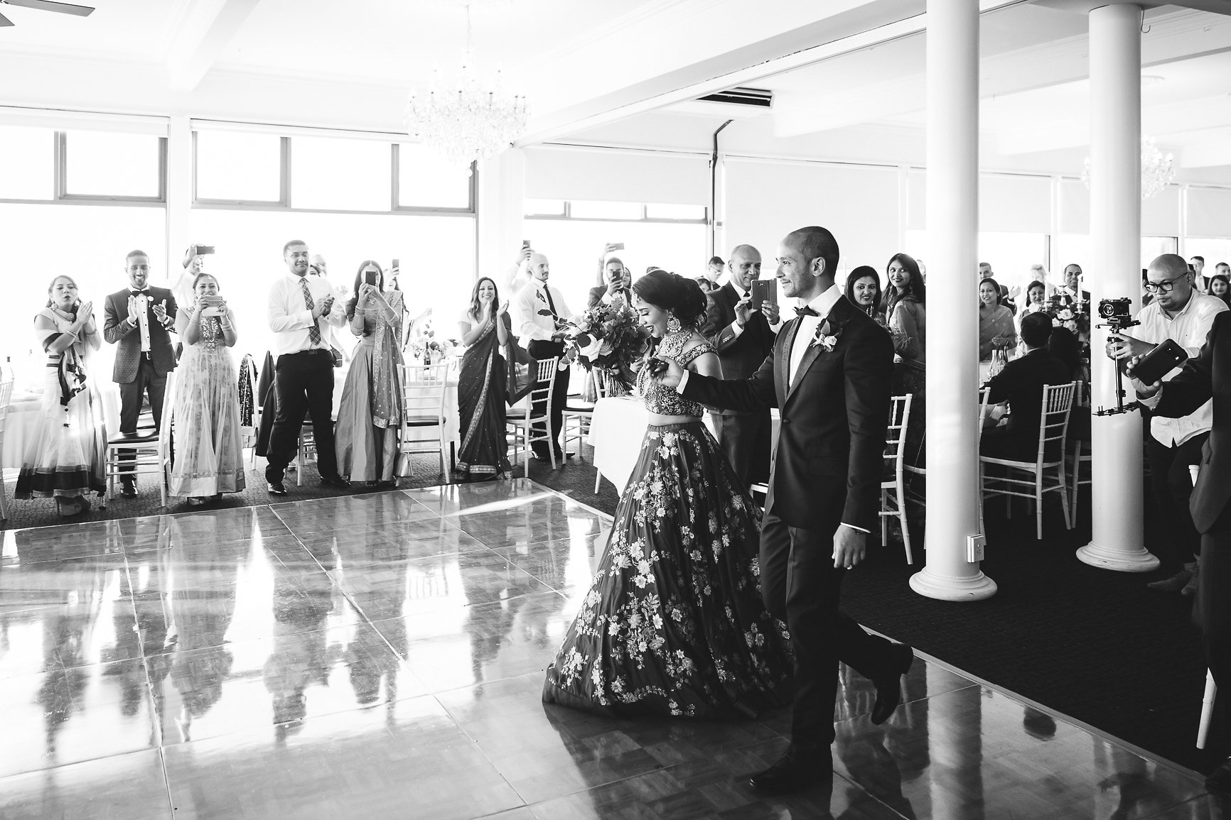 Bride and Groom Entrance, Nepalese Wedding at Panorama House Bulli